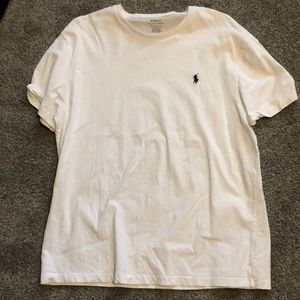 Plain White men's Ralph Lauren tee